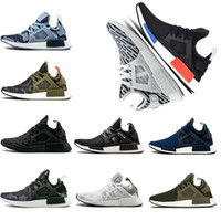 Wholesale cotton duck canvas - wholesale NMD_XR1 PK Running Shoes Wholesale Cheap Sneaker NMD XR1 Primeknit OG PK Zebra Bred Blue Shadow Noise Duck Camo Fall Olive