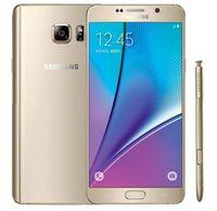 desbloquear nota remodelada venda por atacado-Remodelado 100% original n920t n920t samsung galaxy note 5 n920t n920f n920f telefone desbloqueado 4 gb / 32 gb de 5.7 polegadas