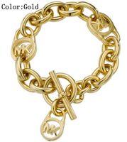 kız kardeşler için bilezikler toptan satış-MOM SISTER MIMI NANA Moda Altın Kilit Bayanlar Bilezik Yüksek Kalite Sıcak Gümüş Takı Ücretsiz Kargo B011