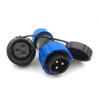 ip68 соединители водонепроницаемые оптовых-SD20 3pin водонепроницаемый кабель питания разъем, 25а 250В высокого напряжения электронной авиации разъемы, IP68 открытый светодиодный разъем разъем
