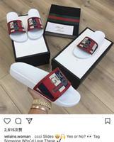 Wholesale mens gladiators - designer slides women men sandals Europe Brand Fashion mens sandals Medusa Scuffs causal summer huaraches slippers flip flops slippers