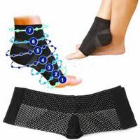 снятие усталости оптовых-New Foot Angel Anti Fatigue Compression Sleeve Circulation Ankle Swelling Relief