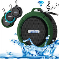 Wholesale plastic card systems - bluetooth speaker waterproof IP65 Wireless Portable Bluetooth Speaker Loudspeaker Sound System Stereo Waterproof Speakers for outdoor