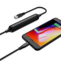 Wholesale banks data - JOYROOM 2500mAh External Power Bank For Phone Quick Charge 2.4A Mirco Cable 2 in 1 Battery Charger Data Transfer Type-C Cable
