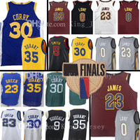 Wholesale 35 l - 30 Stephen Curry 35 Kevin Durant 23 LeBronJames Jersey 23 Draymond Green0 Kevin Love5 JR Smith 11 Klay Thompson 2018 Finals Bound Break