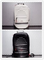 sac à dos à carreaux blanc noir achat en gros de-Gros noir ciment basket-ball sac à dos sac de jour de sport