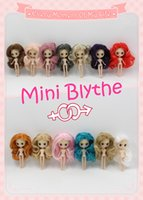 Wholesale free inflatable doll resale online - blythe doll Nude Doll Mini Blyth many kinds of style for choosing Suitable For DIY Change Toy Factory Blyth