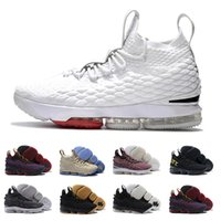Wholesale James Shoe - With box High Quality Ashes Ghost cavs equality James 15 15s men Basketball Shoes James 15 sports Sneakers 15s Mens Casual Shoes 7-12
