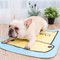 Wholesale pet cooling mats resale online - Summer Pet Ice Mat cm Cooling Pad Sleeping Mats Easy to Cleaning Cartoon Dog Pet Bed