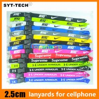 Wholesale fashion cameras - Love Pink Super Hot U A Fashion Clothing Lanyard Detachable Under Keychain for iphone X 8 Camera Strap Badge 2018 New 100pcs DHL Free