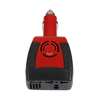 Wholesale car lighter 12v dc online - New W Car Power Inverter V DC to V v AC converter Adapter with Cigarette Lighter and USB V Charger For Laptop