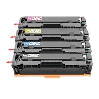 chips pour hp achat en gros de-204A Cartouche de toner compatible CF510A CF511A CF512A CF513A pour HP Color LaserJet Pro M154 / MFP M180 / 180n / M181 / 181fw sans puce