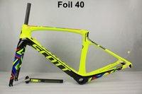 ingrosso bicicletta scott piena-2018 NUOVO T1000 UD carbonio pieno scott foglio di carbonio bici da strada telaio da corsa bicicletta frameset taiwan telai formato 47 - 56 cm può essere XDB nave