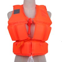 Wholesale swimming jackets for kids for sale - Group buy Kids Life Vest with Survival Whistle Water Sports Foam Adult Life Jacket for Drifting Swimming Water skiing Surfing