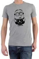 Wholesale minions gifts for sale - FUNNY MERCEDES MINION T SHIRT GREAT GIFT PRESENT IDEA FOR MERCEDES OWNERS New Arrival Men S Fashion top tee