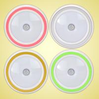 luzes da noite do corredor venda por atacado-Indução humana Lâmpada de Plástico Rodada Inteligente Luz LED Para O Corredor Do Quarto de WC Noite Luzes de Alta Qualidade 20 wx B