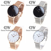 Wholesale stainless steel clover bracelet - Ladies Watches 2018 Women Watch Clover Famous Brand Fashion Stainless Steel Bracelet Quartz Wrist Watches For Women Montre Femme
