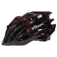 mond fahrrad großhandel-MOON Breathable 27 Air Vents Fahrradhelm für Racing Ultralight Fahrradhelm für Männer und Frauen Bike