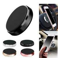 Wholesale magnetic phone holders for cars online – Hot Stick Magnetic Car Holder Universal Mini Cell Phone Car Flat Mounts with Retail Package for IPhone Pro Max X Plus Samsung S9