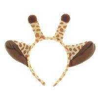 Wholesale dress up supplies resale online - Plush Giraffe Hair Sticks Halloween Ears Headband Kids Animal Costume Fancy Cosplay Dress Up Hair Accessories Party Supplies AAA805