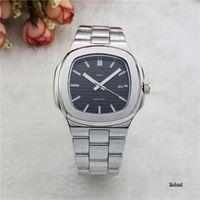 Wholesale Ceramic Classic - Brand New Mens Calendar 40mm quartz Watch Men Full Steel Nautilus Auto Date Classic Watches Wristwatches