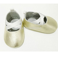 Wholesale Girls Ballerina Shoes - New Arrival Handmade Soft Bottom Baby Girl Shoes Moccasin Genuine Leather baby shoes Criss Cross Ballerina cow Leather Moccs
