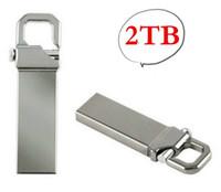 silver memory stick Canada - 2TB Real Memory Flash Drive Memory USB USB Stick U Disk Pen Pendrive (Silver Color:)