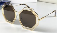 Wholesale frame sides resale online - Luxury Sunglasses For Women Deisnger Eight Sided Shape Uv400 Len Summer Style Adumbral Butterfly Designer Top Quality Come With Case