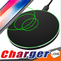 Wholesale portable device chargers - Q16 Fast Charger Qi Wireless Charging Pad Portable Charger For iphone X 8 Plus Samsung Galaxy S8 plus S7 S6 Note8 all Qi-abled devices