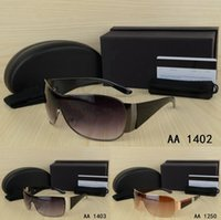 Wholesale hot pink eyeglasses - Hot Bill Design Big frame Metal hemming Fashion men or woman Sunglasses with origianal box cool eyeglasses Classic Styl glasses UV400 Shades