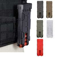 ingrosso riviste airsoft-Tactical Airsoft FAST MAG Accessorio FAST Magazine Pouch Bullet Shell Box Fast Mag Magazine Box NO06-109