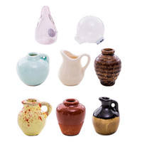 mini vases verts achat en gros de-Mini Céramique Vase Cloud Aimant Pour Réfrigérateur DIY Vase En Porcelaine Aimant Pour Réfrigérateur Message Autocollant Plante Verte sur Cadeau De Cuisine