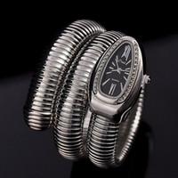 montres de filles cool achat en gros de-Cool Serpent Bracelet Montres Femmes De La Mode Infinity Bracelet Montre Vogue Filles Marque Horloge À Quartz Religios Reloj Montre Femme NW404 Y1890304