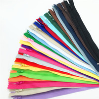 Wholesale u 24 - 1 centimeter #2 Closed Nylon Coil Zippers Tailor Sewing Craft (8-24 Inch) Crafter's &FGDQRS (Color U PICK)