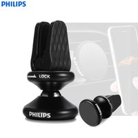 Wholesale Philips Phones - PHILIPS DLK35006 Universal Car Mobile Phone Holder 360 Degree Rotatable Auto Mount For Iphone Cell Phone