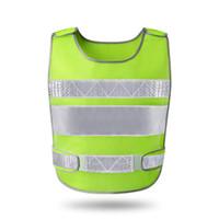 Wholesale fluorescent vests - reflective vest automobile annual construction process of fluorescent clothing vest safety protective coat