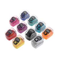 dijital halka sayacı toptan satış-Renkli ABS dijital LED elektronik taksitli sayacı 0-99999 Manuel yeni FingerRing Tally halka parmak sayacı + kutu ambalaj