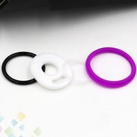 Wholesale Sealed Atomizer - Silicon O Ring Fit TFV12 Prince Tank Seal O-rings Replacement Orings Set For Smoke TFV12 Prince Atomizer 4 Colors DHL Free