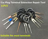 ingrosso tavole di sostegno-11 pezzi Auto Car Plug Circuit Board Wire Harness Terminale Pick Pick Connector Crimp Pin Back Ago Rimuovere Tool Set