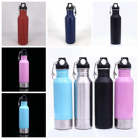 Wholesale Glass Flask Bottles Wholesale - 12oz Stainless Steel Beer Bottle Cup Vacuum Insulation Cold Mugs Beer Bar Dining Hip Flasks Party Beer Glass With Bottle Opener OOA4244