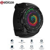 ingrosso orologio astuto del telefono 3g-Smartwatch schermo Zeblaze THOR PRO smart phone 3G Android Phone della vigilanza degli uomini di sport MTK6580 Bracelet 1GB + 16GB di tocco di GPS