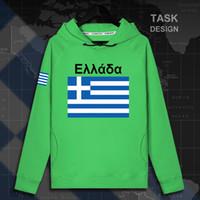 Wholesale greek s - Greece Greek GRC GR mens hoodie pullovers hoodies men sweatshirt streetwear clothing hip hop tracksuit nation flag Spring new
