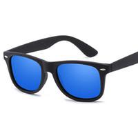 e46408652fa New Arrival Polarized Sunglasses Men Driving Brand Designer sun glasses  Unisex square Rubber Black Frame Polarized Sunglasses eyewear
