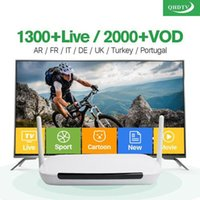 Wholesale Core Accounts - Android APK QHDTV VOD European IPTV Account 1 Year with panel without tv box