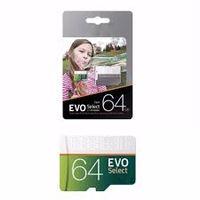 lecteur flash usb 32gb chine achat en gros de-100 Mo / s gris vert EVO Select 32G Carte mémoire flash 64 Go 128 Go 256 Go TF Adaptateur SD gratuit classe 10 Emballage blister au détail