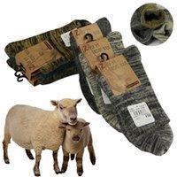 meias de lã de alta qualidade homens venda por atacado-Meias de inverno Dos Homens Meias Quentes De Espessura De Lã Contêm Lã Real Macio Essencial Confortável de Alta Qualidade Masculino Casual Meias