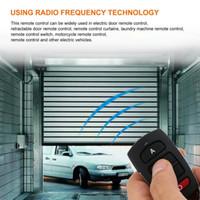 ingrosso pulsante di sicurezza-5 PZ Telecomando universale Chiave 4 Pulsanti 433 MHz Garage elettrico Sistema di allarme di sicurezza Controller wireless Chiave chiavi della macchina