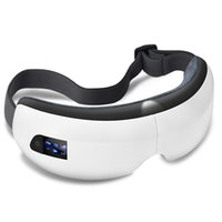 music massager UK - NEW Wireless Digital Eye Massager With Heat Compression Air Pressure Music & Eye Care Stress Relief Glasses Massager Eye Massage