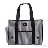 faltbare gepäcktaschen großhandel-Einzelner Schulter-Außentasche-tragbares Gepäck-Pudel-Hundeträger-Katzen-Paket-Reise-faltbare Lüftungs-Haustier-Versorgungsmaterialien 45 6yj bb