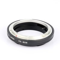 Wholesale Eos Adapter - FD-EOS Ring Adapter Lens Adapter FD Lens to EF for EOS 450D 5D 550D 700D Mount No Glass for Can&n
